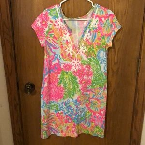 Lilly Pulitzer Dress Lovers Coral